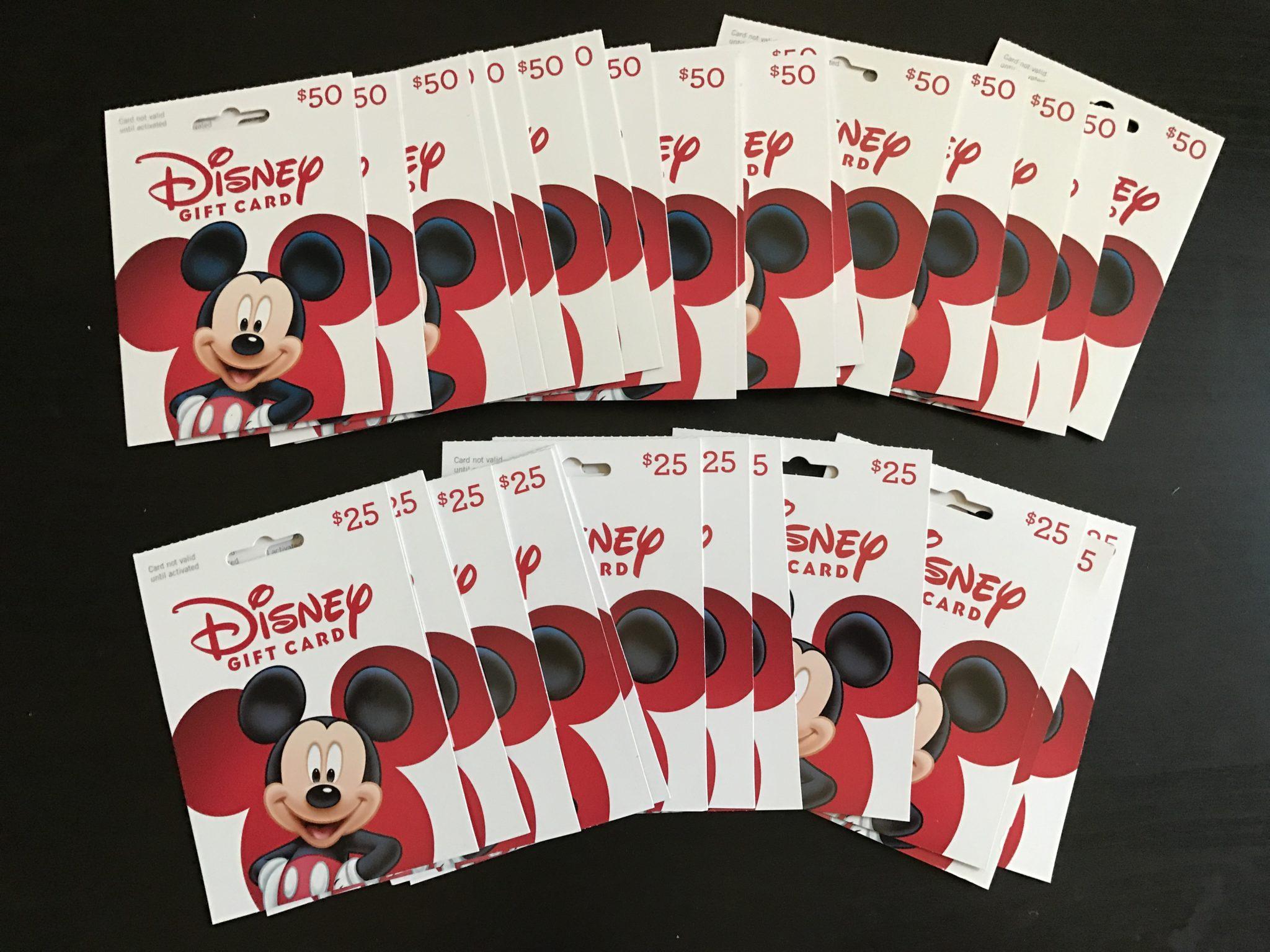 Buy Disney Gift Cards at Target