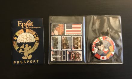 World Showcase Passport