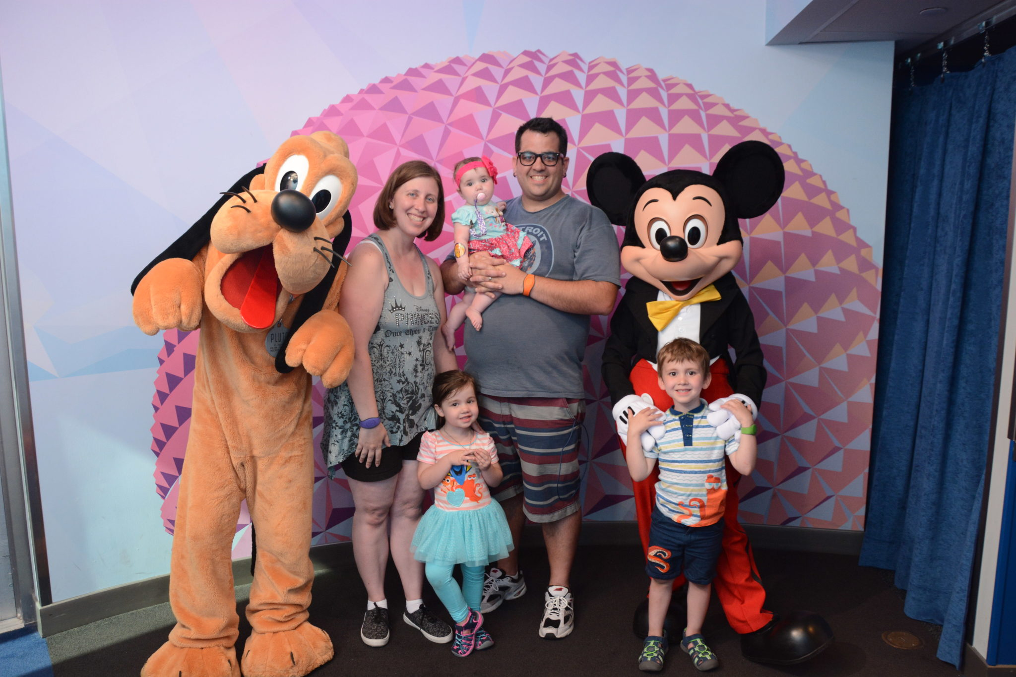 Disney Trips with 3 Kids Under 4